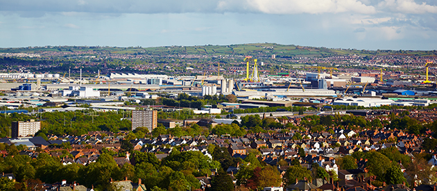 The Upsurging City of Belfast, Northern Ireland