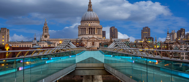 LONDON ATTRACTION - ST PAUL CATHEDRAL