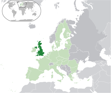 Map for United Kingdom Information Directory