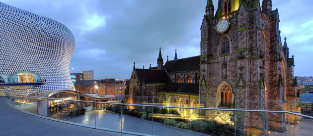 Birmingham is located in the West Midlands region of England, United Kingdom.