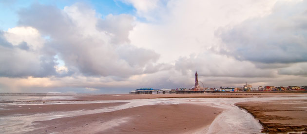 "Blackpool is located in the North West region of England, United Kingdom and is known as the ""Las Vegas of Lancashire""."